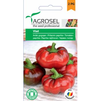 Seminte ardei gogosar Vlad(1 gr), Agrosel, 2PG