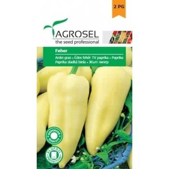 Seminte ardei gras Fehér(1 gr), Agrosel