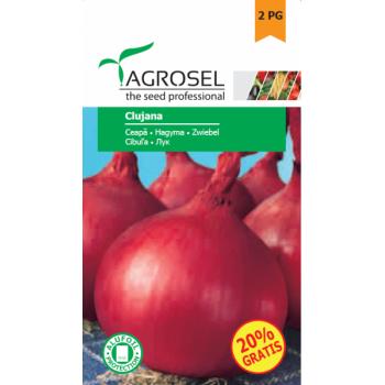 Seminte ceapa rosie Clujana(2 gr), Agrosel