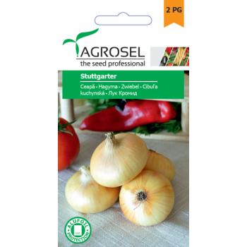 Seminte ceapa Stuttgarter(2 gr), Agrosel