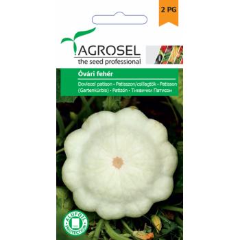 Seminte dovlecel patison Óvári Fehér(4 gr), Agrosel