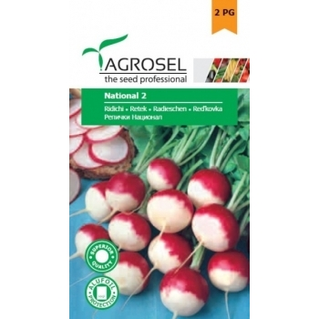 Seminte ridichi National 2(6 gr), Agrosel