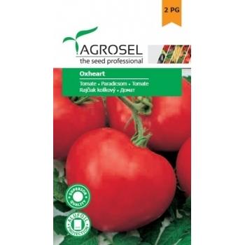 Seminte tomate Oxheart(1 gr), Agrosel, 2PG