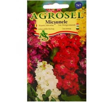 Seminte de flori Micsunele dublu Melanj (0.75gr) Agrosel