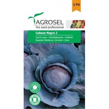 Seminte varza rosie Cabeza Negra 2(3 gr), Agrosel