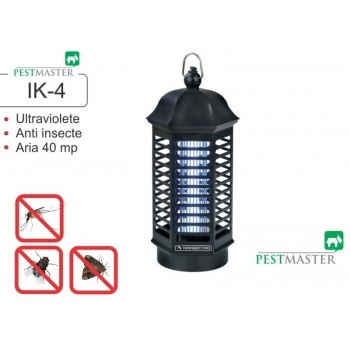 Aparat anti insecte cu lampa UV IK4, 40 mp, Pestmaster