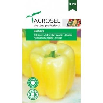 Seminte ardei gras Barbara(1,5 gr), Agrosel