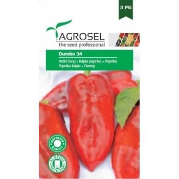 Seminte ardei Dumbo 34(1,5 gr), Agrosel
