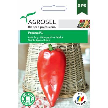 Seminte ardei lung Potaisa (20 sem), Agrosel
