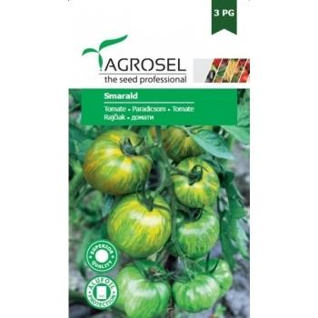 Seminte tomate verzi Smarald(2 gr), Agrosel, 3PG