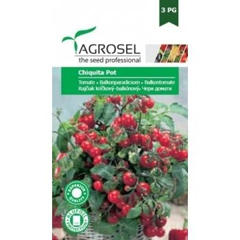 Seminte tomate balcon Chiquita Pot(1.5 gr), Agrosel