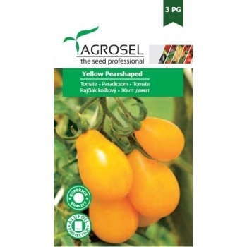 Seminte tomate Yellow Pearshaped(2 gr), Agrosel