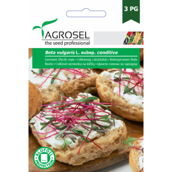 Seminte Germeni Sfecla Rosie(8 gr), Agrosel