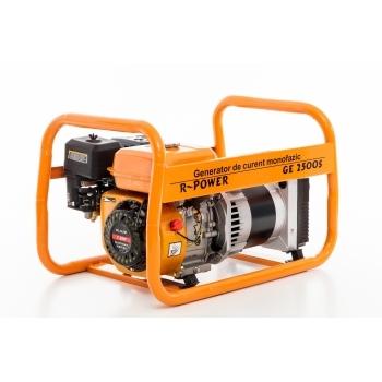 Generator de curent Ruris, R-Power GE2500S, monofazic, putere 2.8 kW, benzina, putere motor 7 Cp, tensiune 220 V, pornire manuala #16