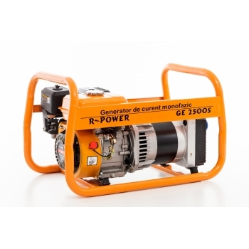 Generator de curent Ruris, R-Power GE2500S, monofazic, putere 2.8 kW, benzina, putere motor 7 Cp, tensiune 220 V, pornire manuala #17