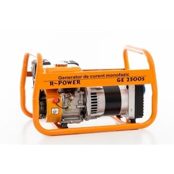 Generator de curent Ruris, R-Power GE2500S, monofazic, putere 2.8 kW, benzina, putere motor 7 Cp, tensiune 220 V, pornire manuala #18