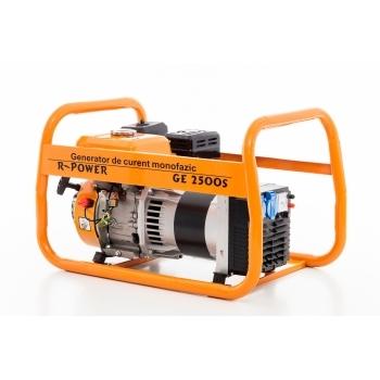 Generator de curent Ruris, R-Power GE2500S, monofazic, putere 2.8 kW, benzina, putere motor 7 Cp, tensiune 220 V, pornire manuala #4