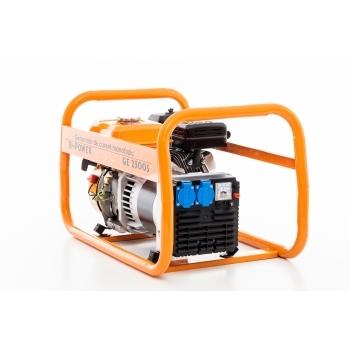 Generator de curent Ruris, R-Power GE2500S, monofazic, putere 2.8 kW, benzina, putere motor 7 Cp, tensiune 220 V, pornire manuala #5
