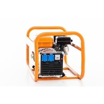 Generator de curent Ruris, R-Power GE2500S, monofazic, putere 2.8 kW, benzina, putere motor 7 Cp, tensiune 220 V, pornire manuala #6