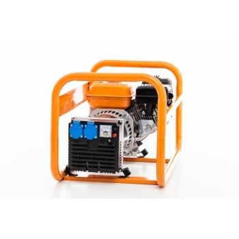 Generator de curent Ruris, R-Power GE2500S, monofazic, putere 2.8 kW, benzina, putere motor 7 Cp, tensiune 220 V, pornire manuala #7