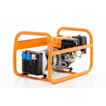Generator de curent Ruris, R-Power GE2500S, monofazic, putere 2.8 kW, benzina, putere motor 7 Cp, tensiune 220 V, pornire manuala #8
