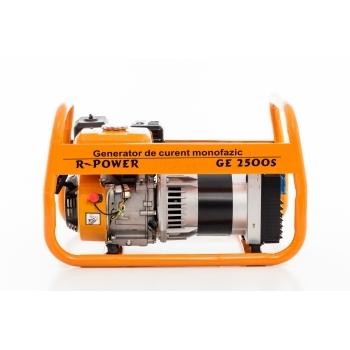 Generator de curent Ruris, R-Power GE2500S, monofazic, putere 2.8 kW, benzina, putere motor 7 Cp, tensiune 220 V, pornire manuala #2