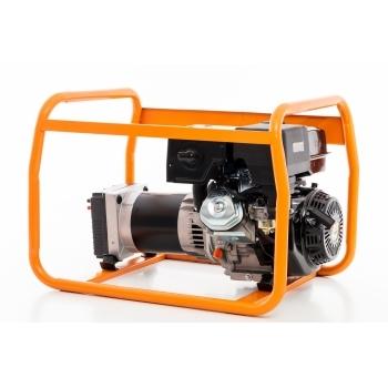 Generator de curent Ruris, R-Power GE 5000 S, monofazic, putere 5.5 kW, benzina, putere motor 13 Cp, tensiune 230 V, pornire manuala #11