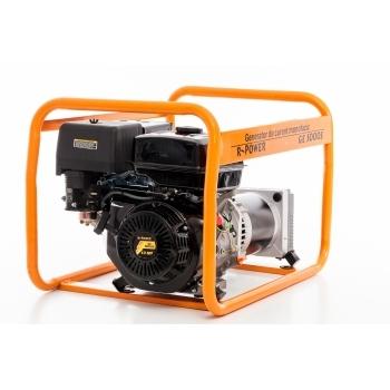 Generator de curent Ruris, R-Power GE 5000 S, monofazic, putere 5.5 kW, benzina, putere motor 13 Cp, tensiune 230 V, pornire manuala #15