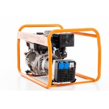 Generator de curent Ruris, R-Power GE 5000 S, monofazic, putere 5.5 kW, benzina, putere motor 13 Cp, tensiune 230 V, pornire manuala #5