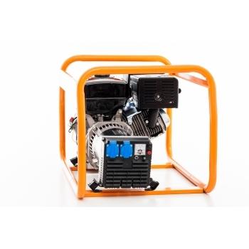 Generator de curent Ruris, R-Power GE 5000 S, monofazic, putere 5.5 kW, benzina, putere motor 13 Cp, tensiune 230 V, pornire manuala #6