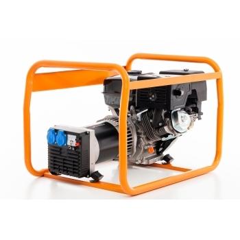 Generator de curent Ruris, R-Power GE 5000 S, monofazic, putere 5.5 kW, benzina, putere motor 13 Cp, tensiune 230 V, pornire manuala #8