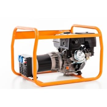 Generator de curent Ruris, R-Power GE 5000 S, monofazic, putere 5.5 kW, benzina, putere motor 13 Cp, tensiune 230 V, pornire manuala #9