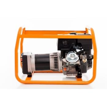 Generator de curent Ruris, R-Power GE 5000 S, monofazic, putere 5.5 kW, benzina, putere motor 13 Cp, tensiune 230 V, pornire manuala #10