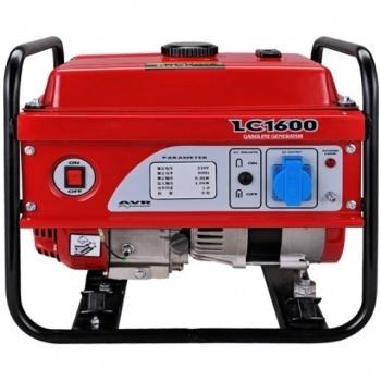 Generator de curent O-mac, Loncin LC1600, monofazic, putere 1.1 kW, benzina, putere motor 2.1 Cp, tensiune reglabila 240 V, pornire manuala