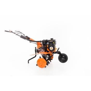 Motosapa DAC 7009ACC1+roti cauciuc+rarita+ roti metalice 300,  fara manicot, 7 CP, latime de lucru 56-83 cm, Ruris #10