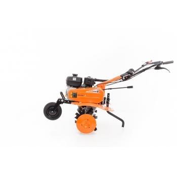 Motosapa DAC 7009ACC1+roti cauciuc+rarita+ roti metalice 300,  fara manicot, 7 CP, latime de lucru 56-83 cm, Ruris #2
