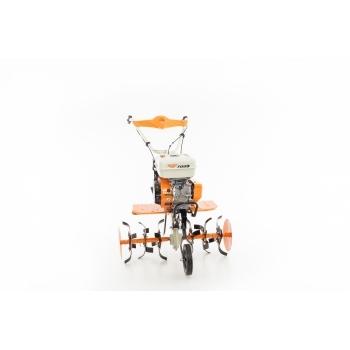 Motosapa Ruris 7099+roti cauciuc+rarita+plug+adaptor, 7 CP, latime de lucru 56-83 cm, Ruris #19