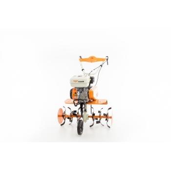 Motosapa Ruris 7099+roti cauciuc+rarita+plug+adaptor, 7 CP, latime de lucru 56-83 cm, Ruris #20