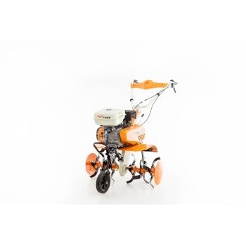 Motosapa Ruris 7099+roti cauciuc+rarita+plug+adaptor, 7 CP, latime de lucru 56-83 cm, Ruris #21