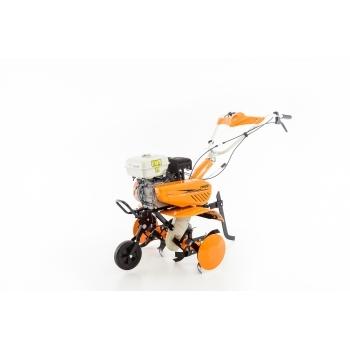Motosapa Ruris 7099+roti cauciuc+rarita+plug+adaptor, 7 CP, latime de lucru 56-83 cm, Ruris #22