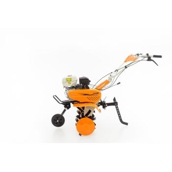Motosapa Ruris 7099+roti cauciuc+rarita+plug+adaptor, 7 CP, latime de lucru 56-83 cm, Ruris #7