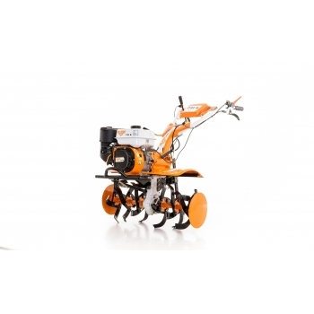 Motosapa Ruris 731 ACC +roti cauciuc+rarita fixa+plug+adaptor+disp.scos cartofi+roti metalice fara manicot + cultivator, benzina, putere 7.5 Cp, latime de lucru 56-83 cm, pornire la sfoara, 2 viteze inainte + 1 inapoi #19