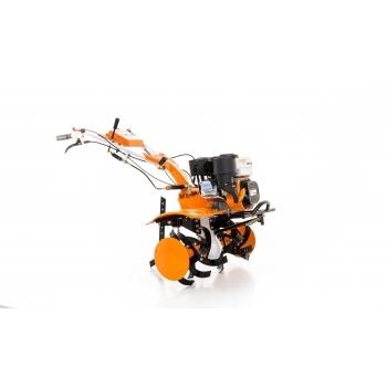 Motosapa Ruris 731 ACC +roti cauciuc+rarita fixa+plug+adaptor+disp.scos cartofi+roti metalice fara manicot + cultivator, benzina, putere 7.5 Cp, latime de lucru 56-83 cm, pornire la sfoara, 2 viteze inainte + 1 inapoi #16