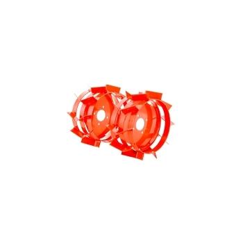 Motosapa Ruris 731 ACC +roti cauciuc+rarita fixa+plug+adaptor+disp.scos cartofi+roti metalice fara manicot + cultivator, benzina, putere 7.5 Cp, latime de lucru 56-83 cm, pornire la sfoara, 2 viteze inainte + 1 inapoi #7