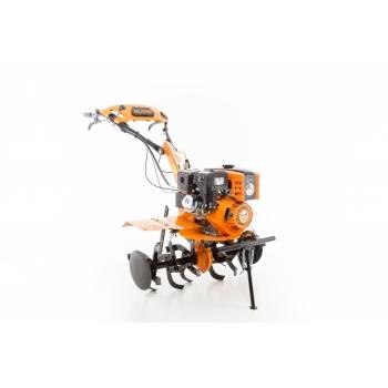 Motosapa Ruris 751 KS+roti cauciuc+rarita+plug reveribil Rev1+roti metalice 400 fara manicot, 8.5 CP, latime de lucru 64-90 cm, Ruris #12