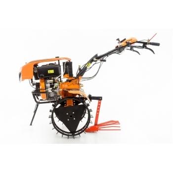 Motocultor Ruris 1001KSD+roti cauciuc+plug reveribil Rev2 + roti metalice 500, motorina, putere 10 Cp, latime de lucru 75-125 cm, pornire automata la cheie, 2 viteze inainte + 1 inapoi #7