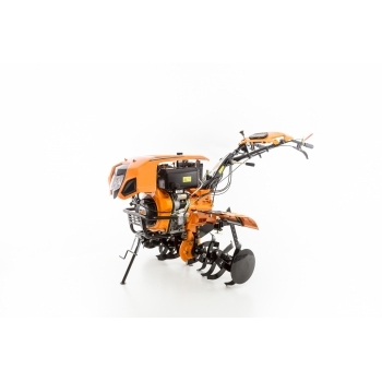 Motocultor Ruris 1001KSD+roti cauciuc+plug reveribil Rev2 + roti metalice 500, motorina, putere 10 Cp, latime de lucru 75-125 cm, pornire automata la cheie, 2 viteze inainte + 1 inapoi #22