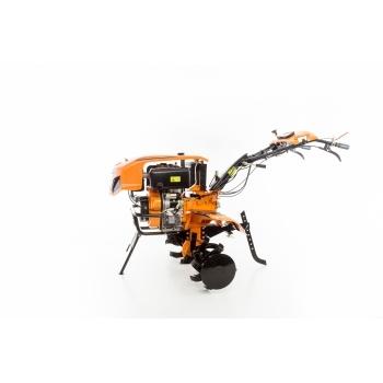 Motocultor Ruris 1001KSD+roti cauciuc+plug reveribil Rev2 + roti metalice 500, motorina, putere 10 Cp, latime de lucru 75-125 cm, pornire automata la cheie, 2 viteze inainte + 1 inapoi #23