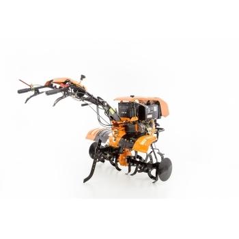 Motocultor Ruris 1001KSD+roti cauciuc+plug reveribil Rev2 + roti metalice 500, motorina, putere 10 Cp, latime de lucru 75-125 cm, pornire automata la cheie, 2 viteze inainte + 1 inapoi #14