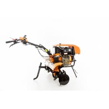 Motocultor Ruris 1001KSD+roti cauciuc+plug reveribil Rev2 + roti metalice 500, motorina, putere 10 Cp, latime de lucru 75-125 cm, pornire automata la cheie, 2 viteze inainte + 1 inapoi #15